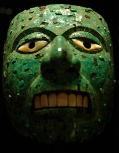 Jade Mask of Xiuhtecuhtli