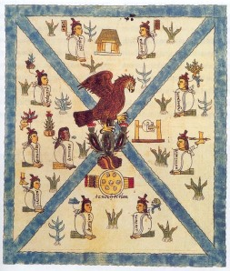 The Founding of Tenochtitlan, Plate 1 of the Codex Mendoza