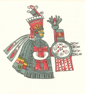 Huitzilopochtli, Page 43 Recto of the Codex Magliabecchiano
