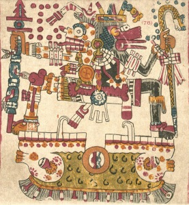 Quetzalcoatl and Mictlantecuhtli