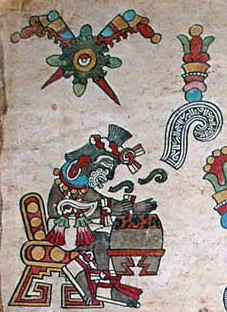Flower and Song, Plate 2 of the Codex Borbonicus