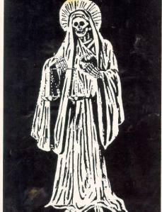 White Santa Muerte