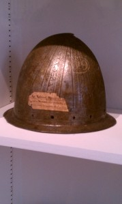 Conquistador's Helm at the Peabody Essex Museum in Salem, MA